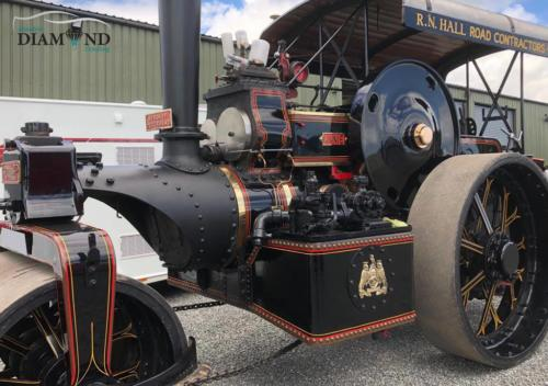 Vintage 1920s Steam Roller