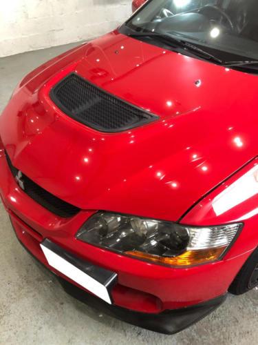 Mitsubishi Evo 9 Detailing Aberdeen